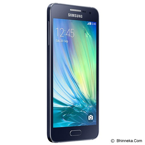 SAMSUNG Galaxy A3 [SM-A300H] - Black - Smart Phone Android